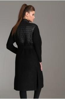 Пальто Arita Style (Denissa) 1001 черный фото 2