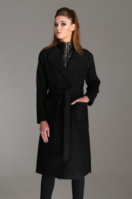 Пальто Arita Style (Denissa) 1001 черный