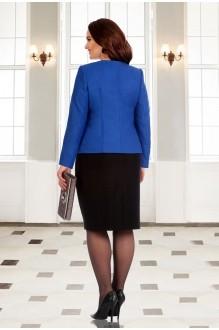 Юбочные костюмы /комплекты Мишель Стиль 541 синий фото 2