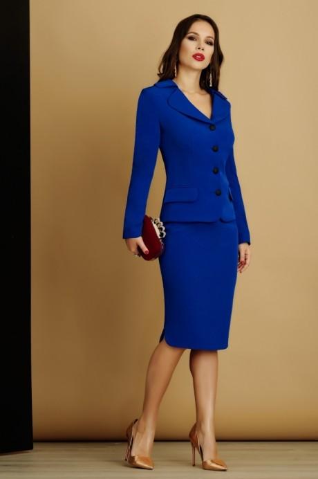 Юбочный костюм /комплект Lissana 2933 василек