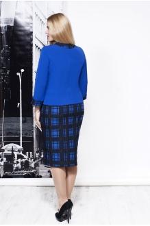Повседневное платье Moda-Versal П-1675 сине-черный фото 2