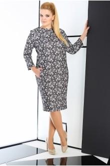 Повседневное платье ЛаКона 989 серый фото 2