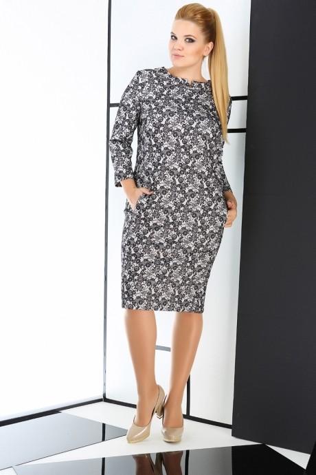 Повседневное платье ЛаКона 989 серый