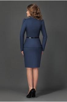 Юбочный костюм /комплект Lissana 1740 (1) темно-синий фото 2