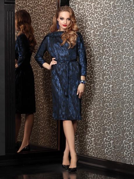 Вечернее платье Твой Имидж 4113 синий