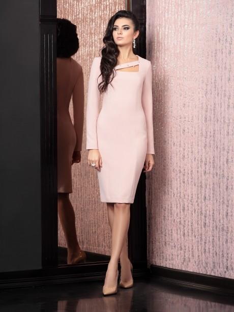 Вечернее платье Твой Имидж 4126 розовый