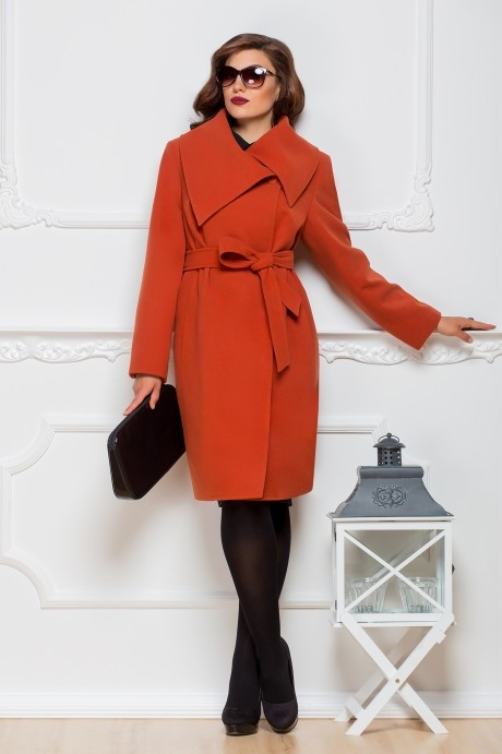 Пальто Elady 2242 -3 рыжий