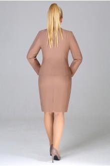Юбочные костюмы /комплекты Fashion Lux 1017 орех фото 2