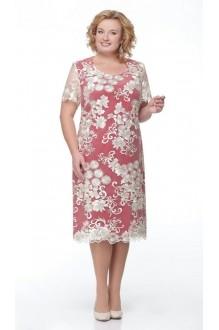 Вечернее платье Aira Style 511 золото/красный фото 1