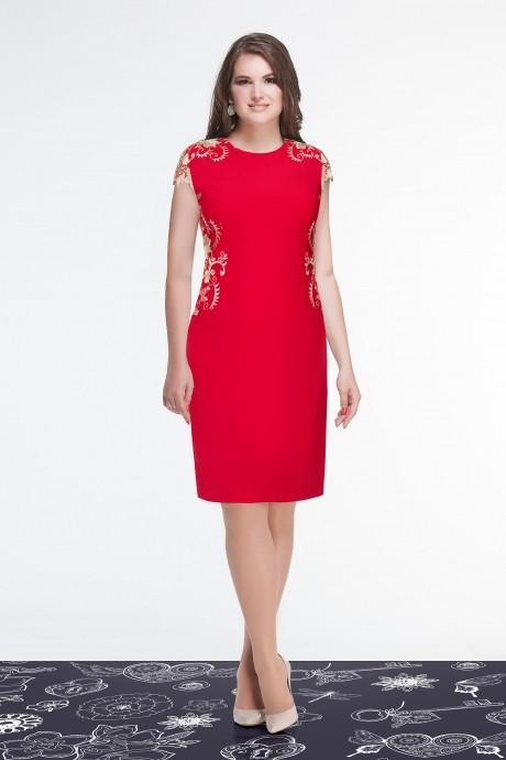 Вечернее платье Condra 4521 красный