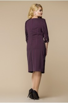 Деловые платья Romanovich Style 1-1394 бордо фото 2