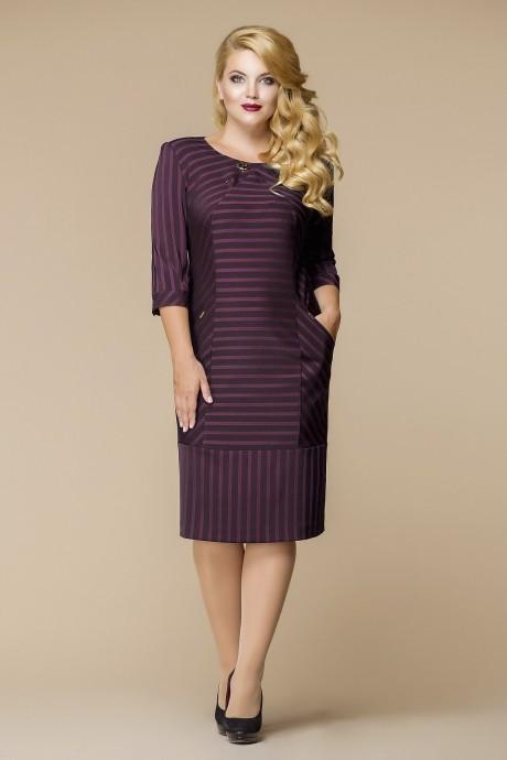 Деловые платья Romanovich Style 1-1394 бордо