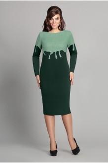 Повседневное платье Мублиз 048 зеленый фото 1