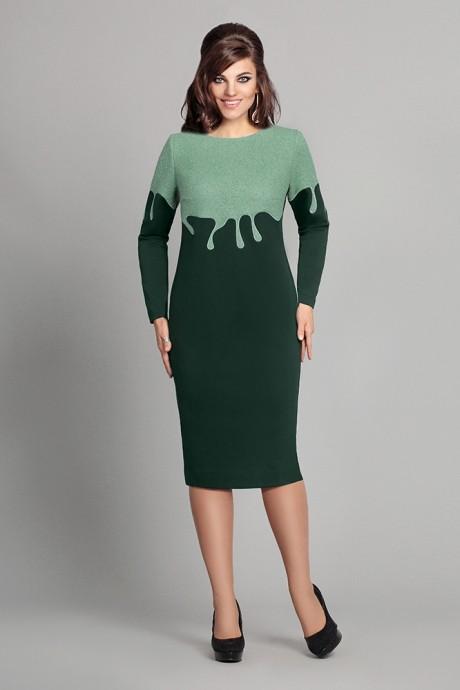Повседневное платье Мублиз 048 зеленый