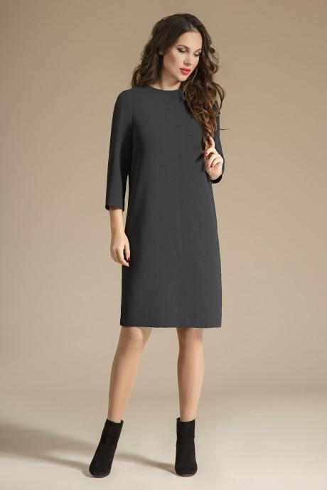 Повседневное платье Teffi Style 1223 графит