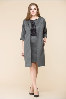Romanovich Style 3-1393 серый/черное кружево