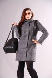Пальто Runella 1214 серый фото 2