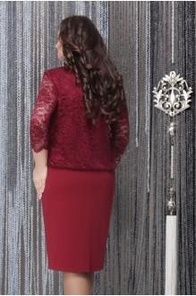 Вечерние платья LeNata 11715 вишня фото 2