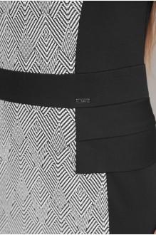 Повседневное платье Эола-стиль 1267 зиг заг + черный фото 2