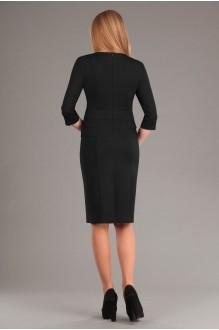 Повседневное платье Эола-стиль 1267 зиг заг + черный фото 3