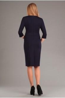 Повседневное платье Эола-стиль 1267 зиг заг + синий фото 2