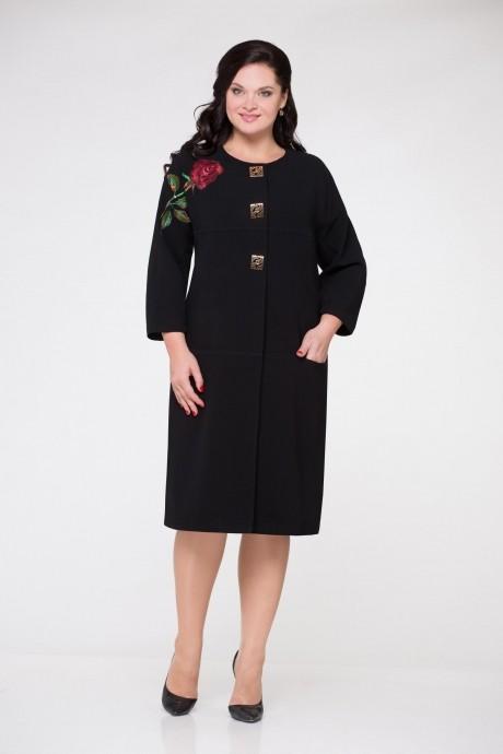 Юбочный костюм /комплект Надин-Н 1240 (5) черный