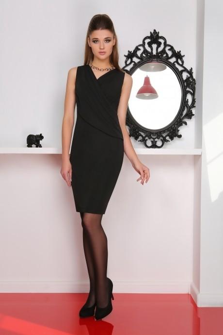 Вечерние платья LeNata 11717 черный
