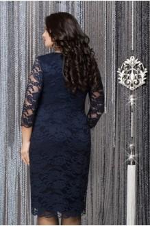 Вечернее платье LeNata 11607 темно-синий фото 2