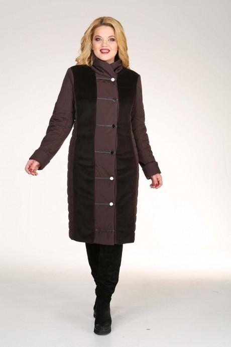 Пальто Diomant 1130 шоколад