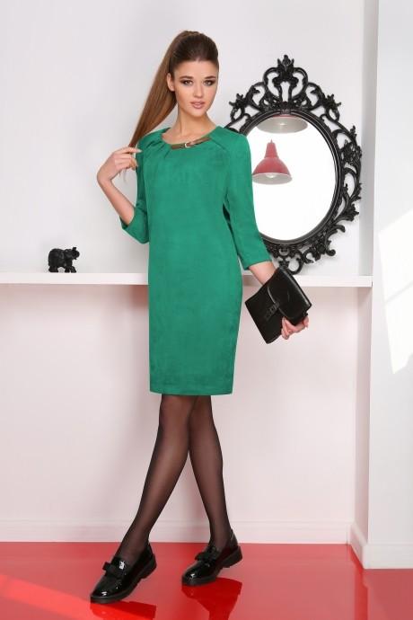 Повседневное платье LeNata 11714 мята