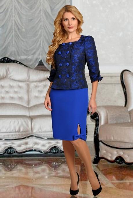 Юбочный костюм /комплект SandyNa 1310 (9) василёк