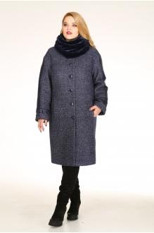 Пальто Diomant 1020 синий фото 1