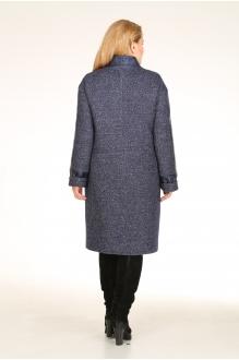Пальто Diomant 1020 синий фото 2