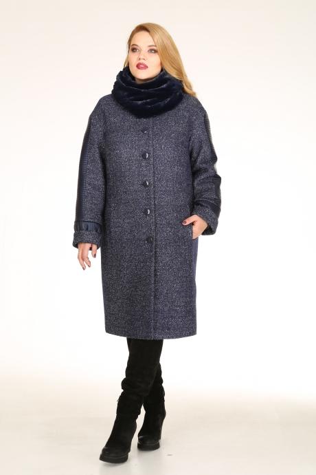Пальто Diomant 1020 синий