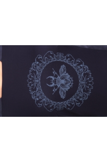 Повседневное платье Эола-стиль 1277 синий фото 2