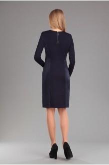 Повседневное платье Эола-стиль 1277 синий фото 4