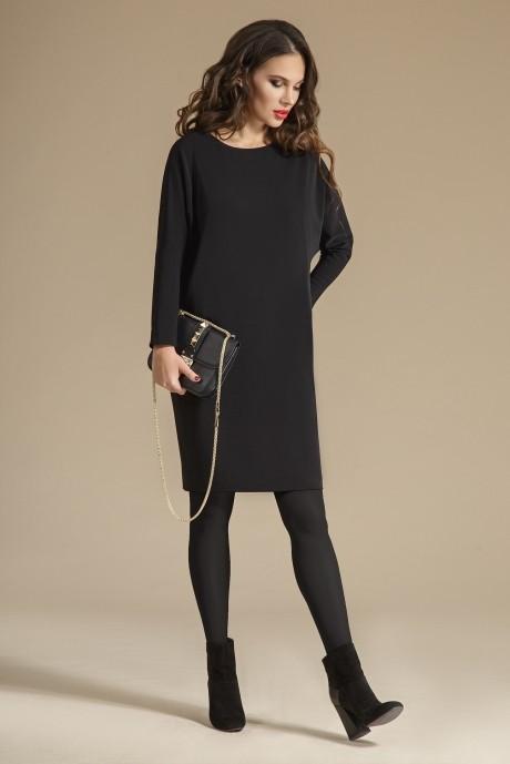 Повседневное платье Teffi Style 1238 черный