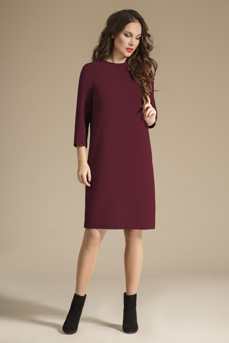 Повседневные платья Teffi Style 1223 спелая вишня