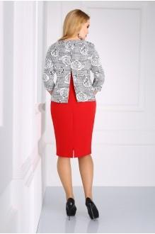 Юбочный костюм /комплект Matini 1.1033 красный фото 2