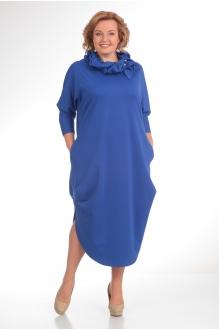 Длинное платье Diomant 1135 василёк фото 1