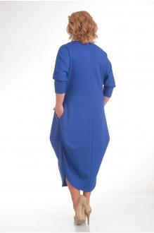 Длинное платье Diomant 1135 василёк фото 2