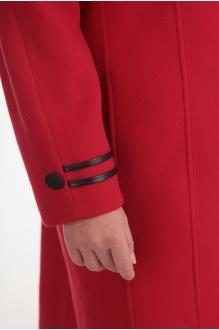 Пальто Diomant 1105 красный фото 2