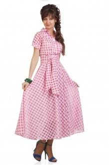 Повседневное платье Elpaiz 085 розовый фото 1