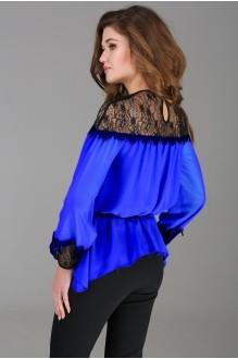 Брючный костюм /комплект Arita Style 1013 синий фото 2