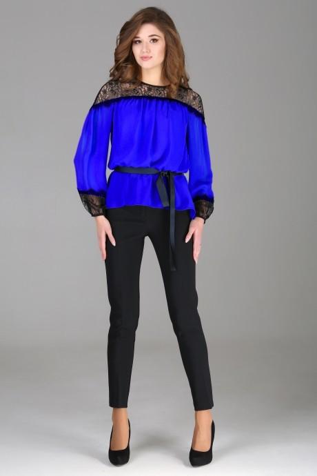 Брючный костюм /комплект Arita Style 1013 синий
