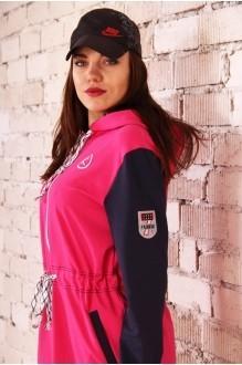 Спортивный костюм Runella 1222 малиновый фото 2