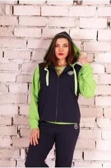 Спортивные костюмы Runella 1233 салатовый/длин. рукав фото 1