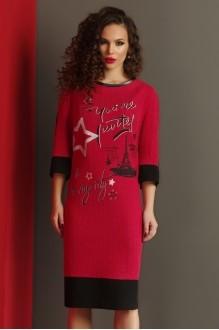 Повседневное платье Lissana 2988 красный фото 3