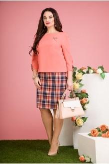 Лилиана 535 розовый персик