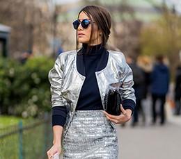 Металлик: как носить и с чем сочетать